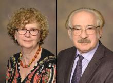 Drs. Deborah Meyers and Eugene Bleecker